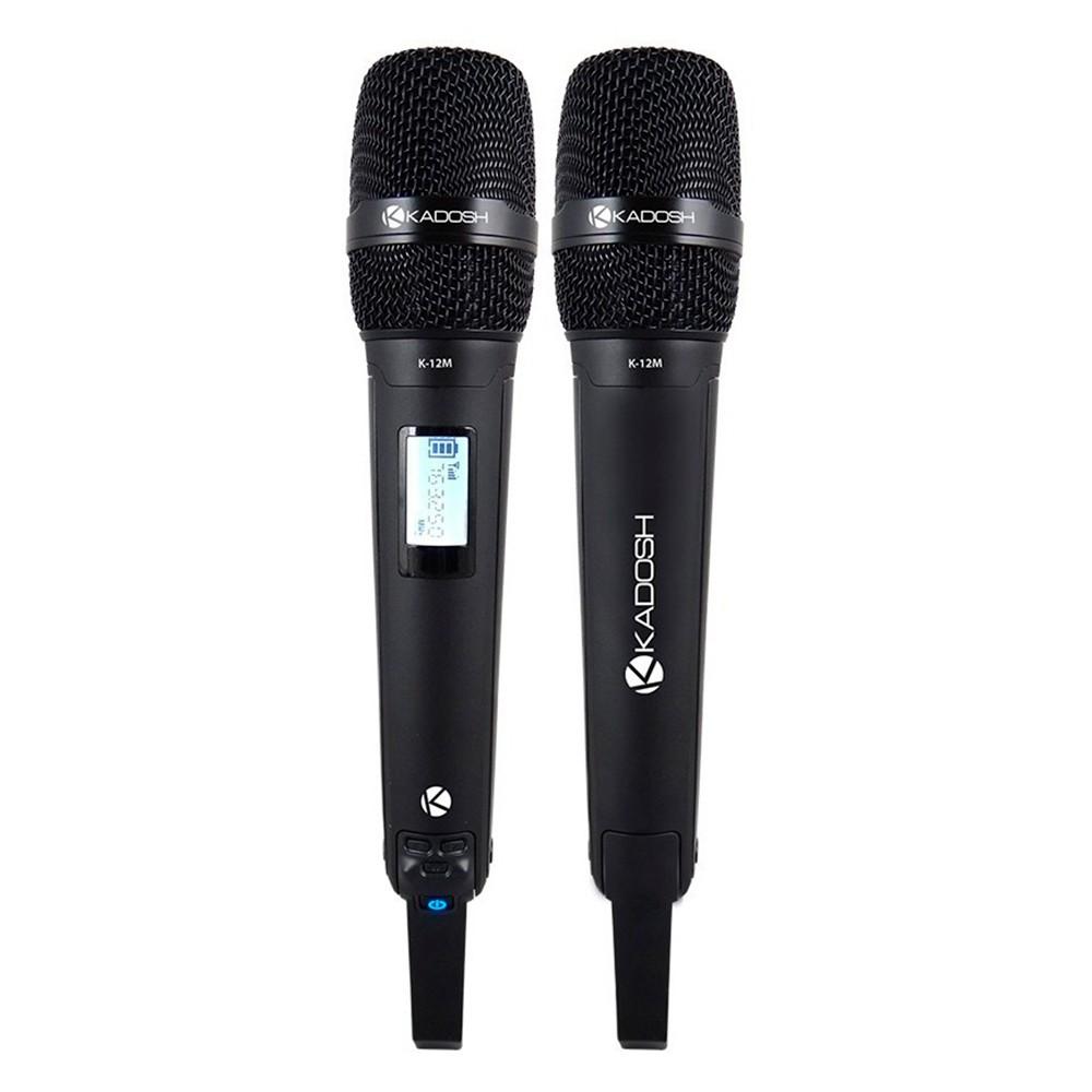 Microfone Sem Fio Kadosh KDSW-1201M