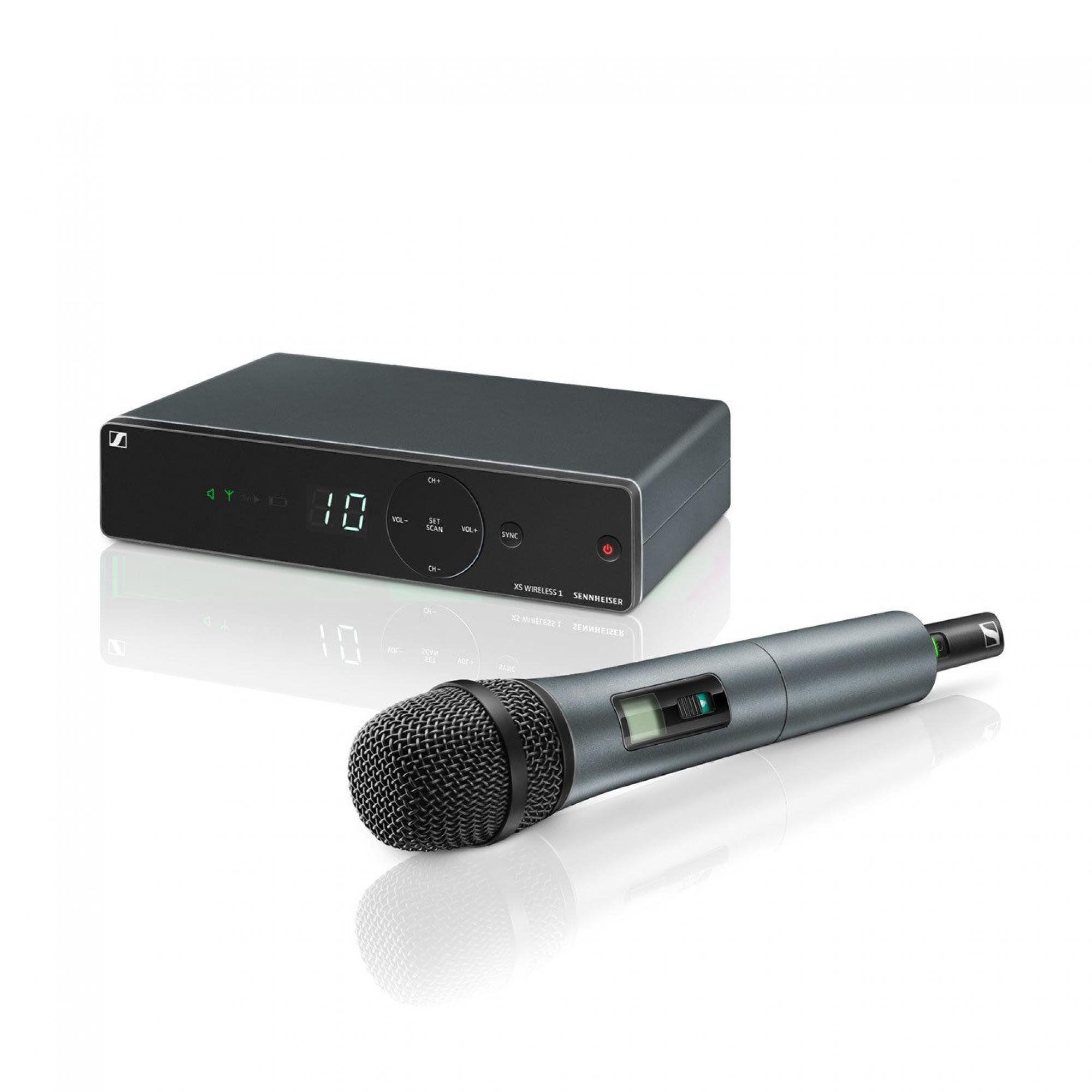Microfone Sem Fio Mão Sennheiser Xsw 1-825a