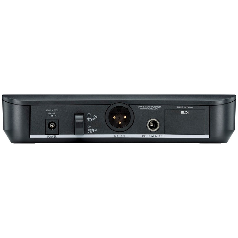 Microfone Sem Fio Para Sopro Shure BLX14BR/B98-M15