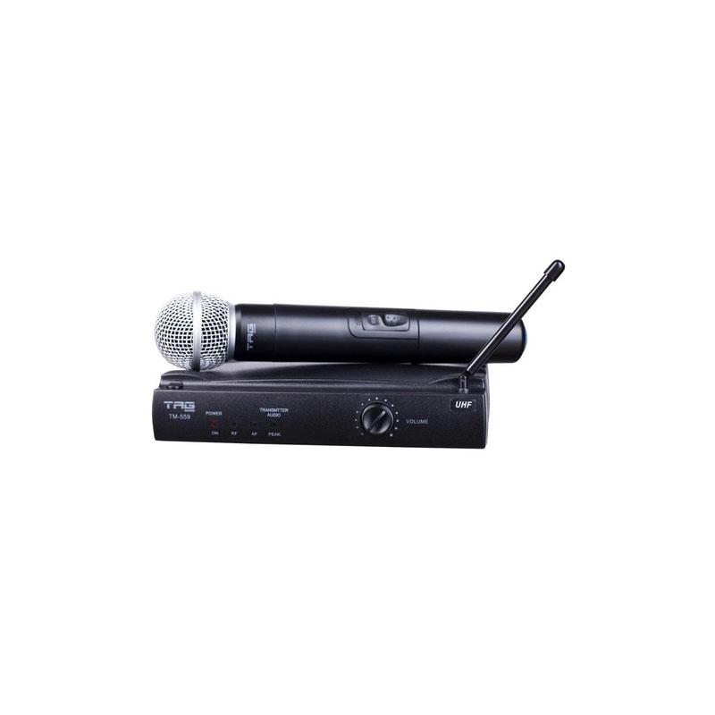 Microfone Sem Fio Sem Case Tag TM559 UHF Bivolt