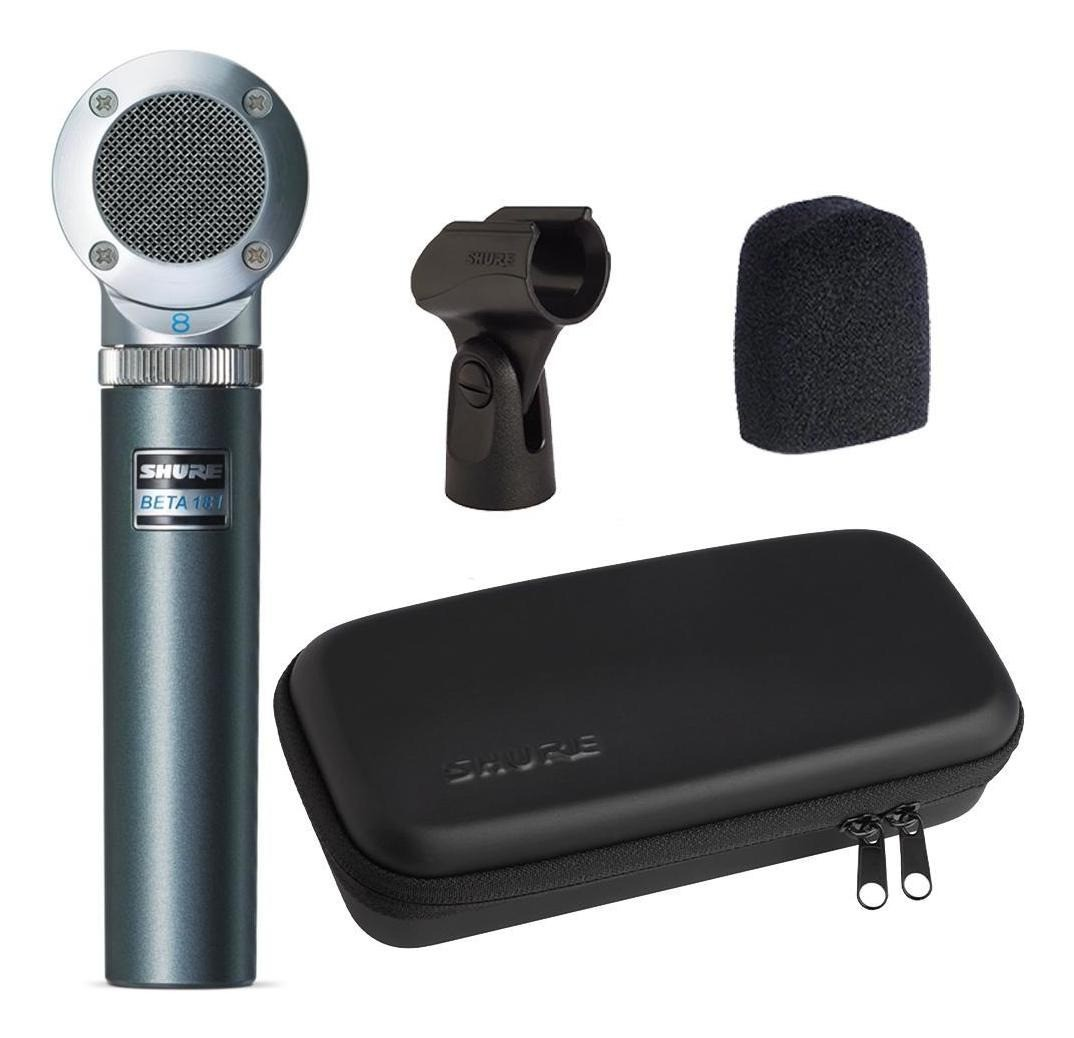Microfone Shure Beta 181/S Supercardioide Com Case