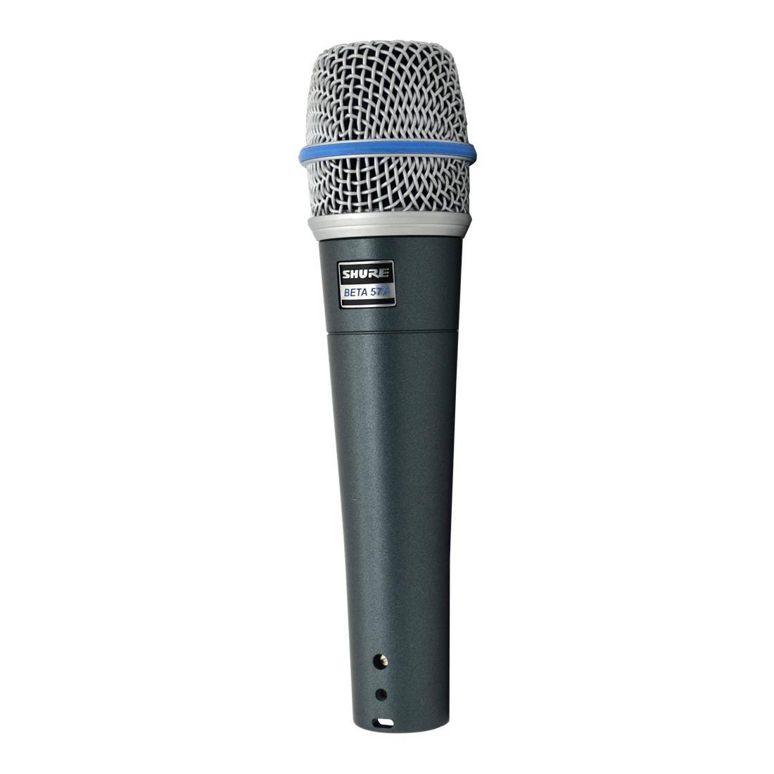 Microfone Shure Beta 57A Com Fio Dinâmico