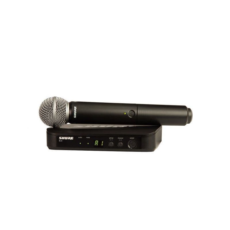 Microfone Shure BLX24BR/SM58-J10 Sistema Sem Fio