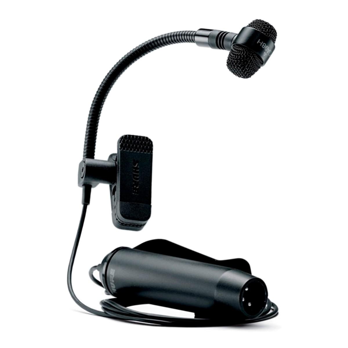 Microfone Shure Para Instrumentos de Sopro PGA98H Xlr