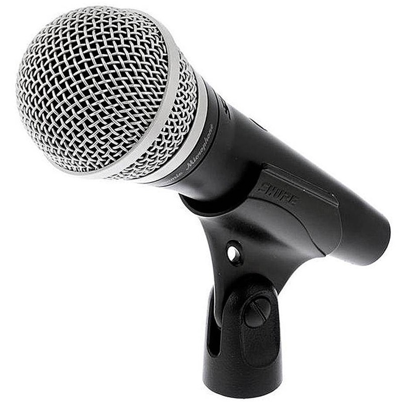 Microfone Shure PGA48 - LC Dinâmico