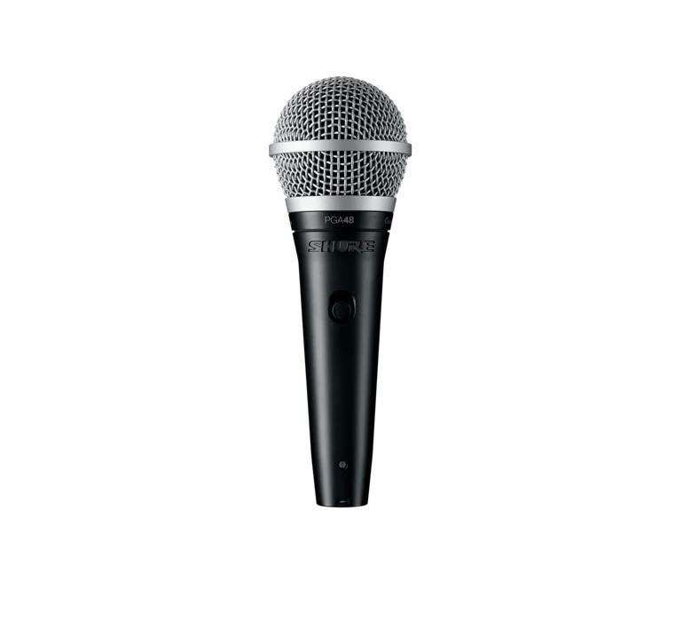 Microfone Shure PGA48-QTR Dinâmico Cardioide de Mão