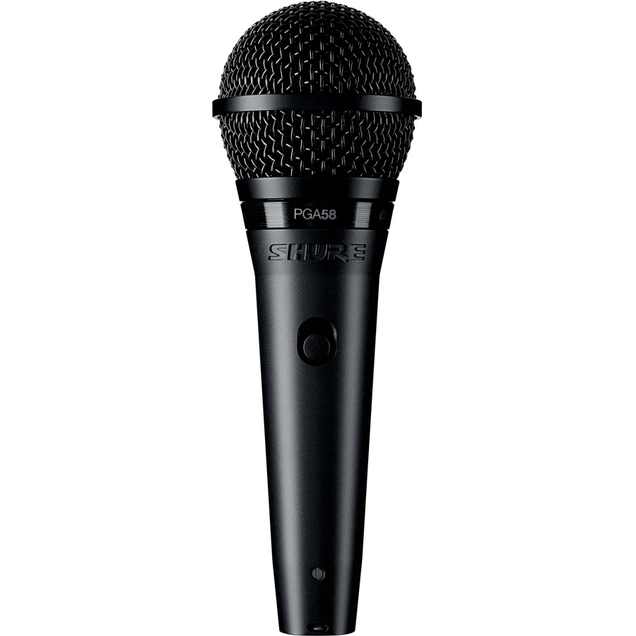 Microfone Shure PGA58 Dinâmico