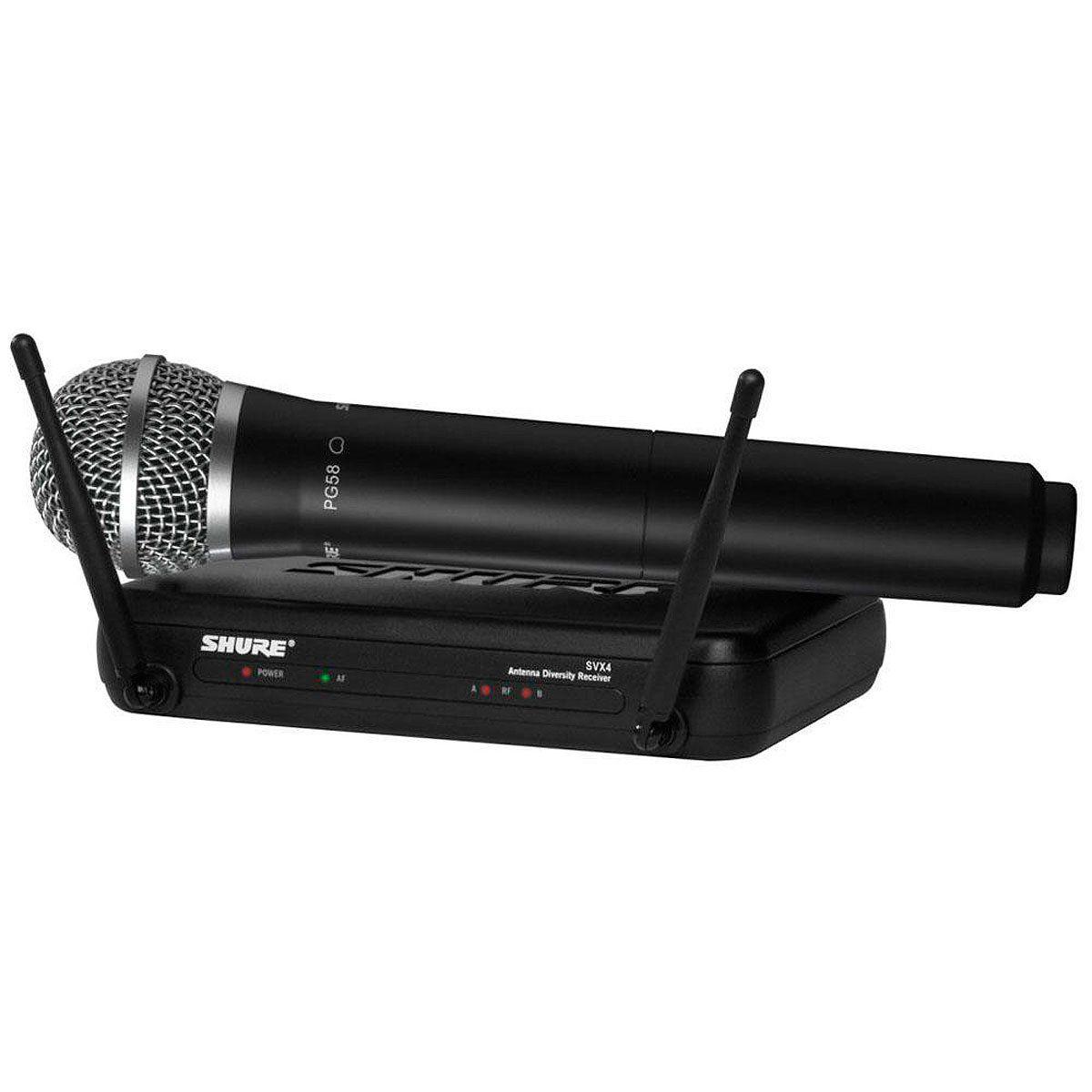 Microfone Shure Sem Fio Svx24 Br - Pg 58