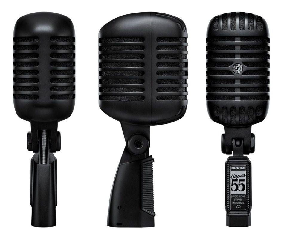 Microfone Super 55 BLK Shure