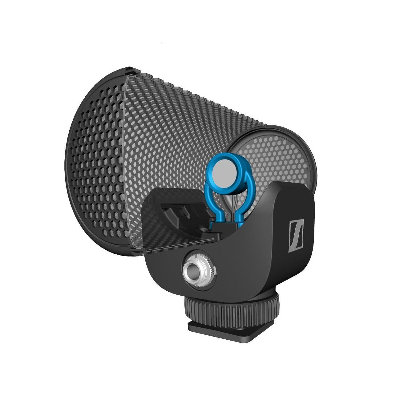 Microfone Supercardioide MKE 200 Sennheiser P/ Live Câmeras
