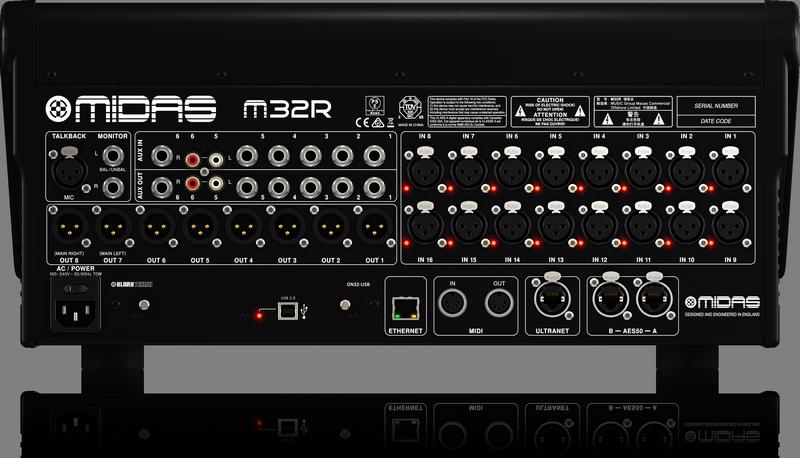 Mesa de Som  Midas M32r