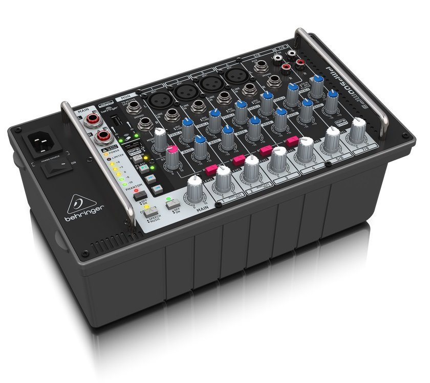 Mixer Amplificado 110V PMP500MP3 Behringer