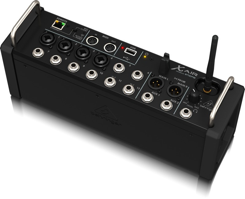 Mixer Digital X Air Xr12 Behringer 12 Canais