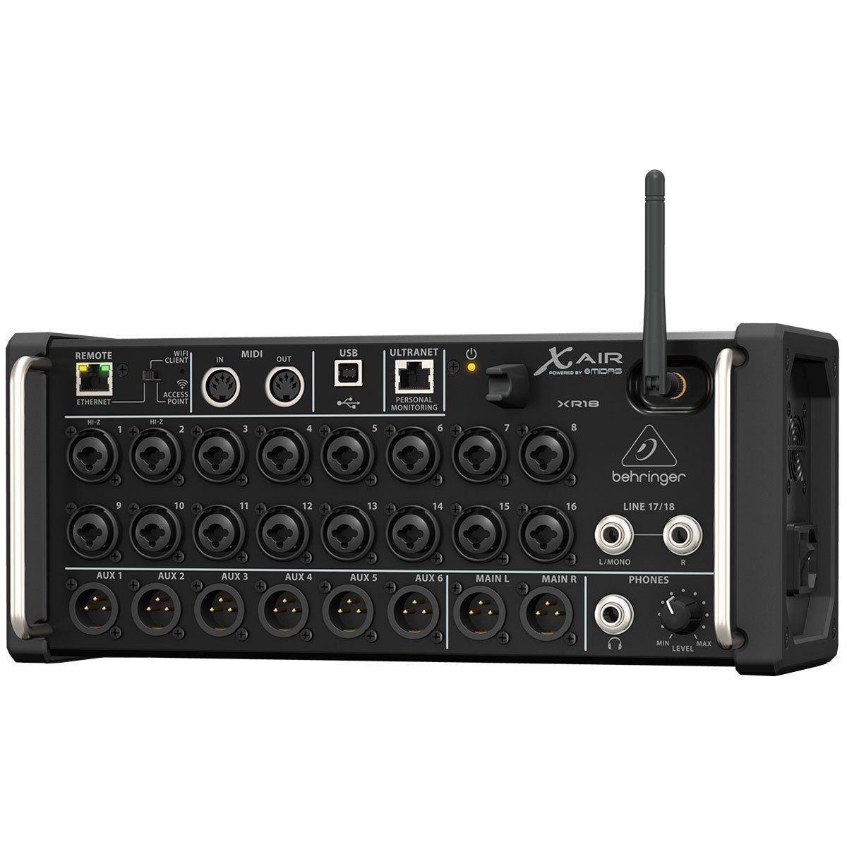 Behringer XR18 Mesa de Som Digital com 18 canais