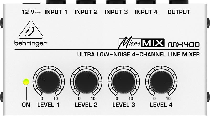 Mixer Micromix MX400 Behringer 110V