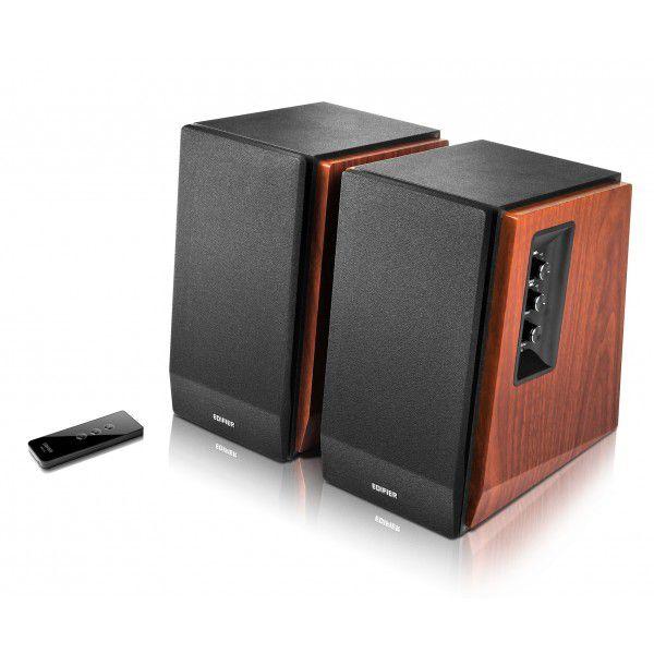 Monitor De Áudio Bluetooth R1700BT Madeira - Edifier 2.0 - 66w
