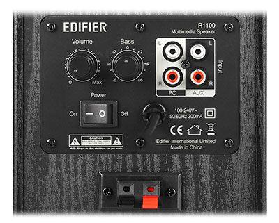 Monitor de Áudio R1100 42W RMS - Edifier 2.0 Bivolt