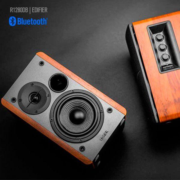 Monitor de Áudio R1280DB Edifier Madeira 42w Rms - Bivolt