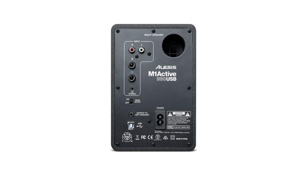 "Monitor Profissional USB 3"" Par 20W Alesis"
