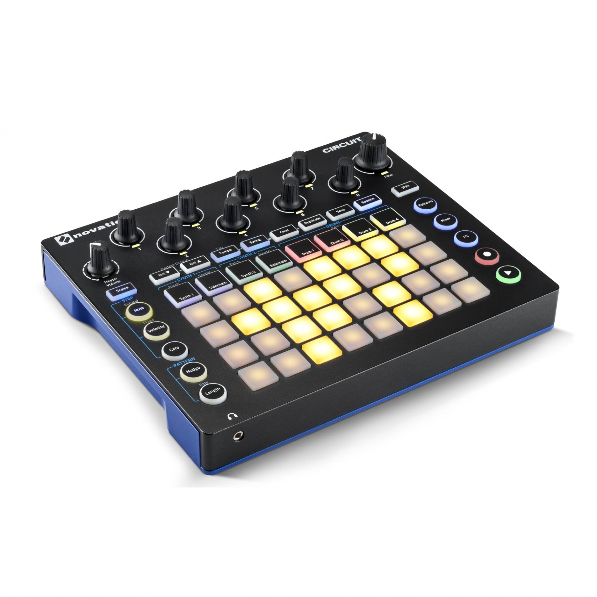 Novation CIRCUIT Controlador Sintetizador e Drum Machine