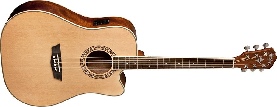 Pack Violão Dreadnought - WD10CEPACK - Washburn