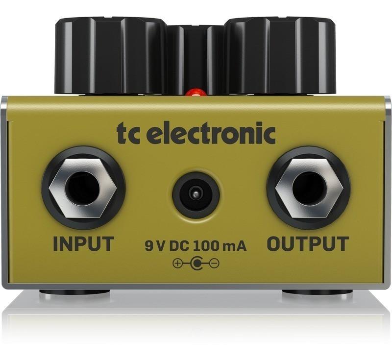 Pedal Cinders Overdrive TC Electronic Para Guitarra
