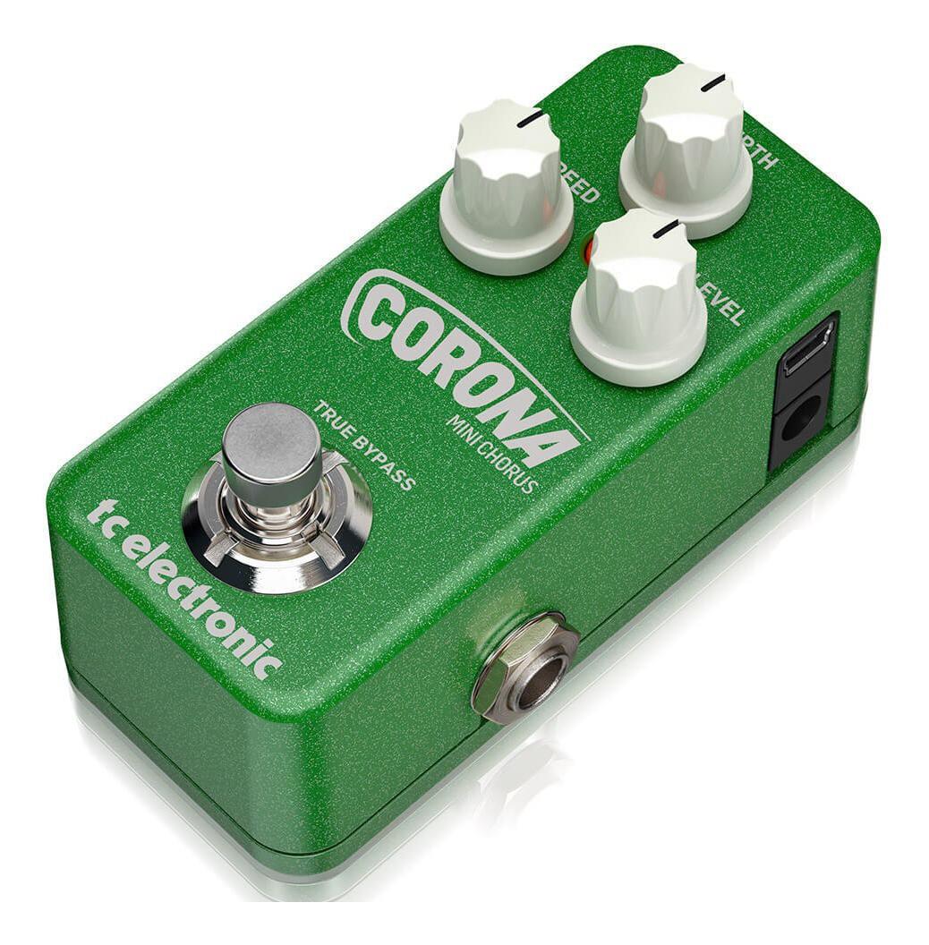 Pedal Corona Mini Chorus TC Electronic Para Guitarra