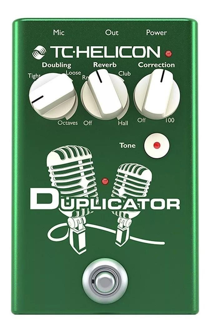 Pedal de Efeito Vocal - DUPLICATOR - TC Helicon