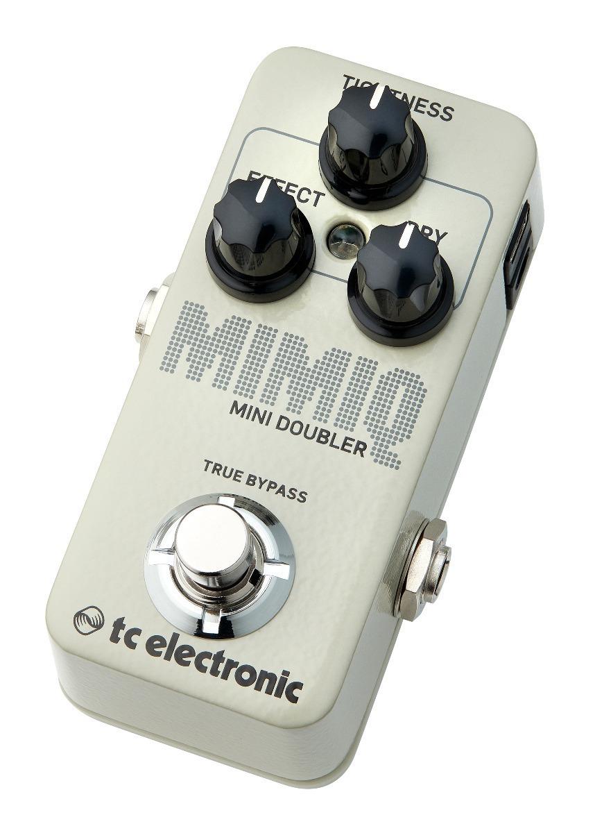 Pedal De Efeitos Mimiq Mini Doubler Tc Electronic