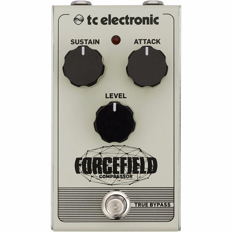 Pedal De Efeitos Tc Electronic Forcefield Compressor Guitarra