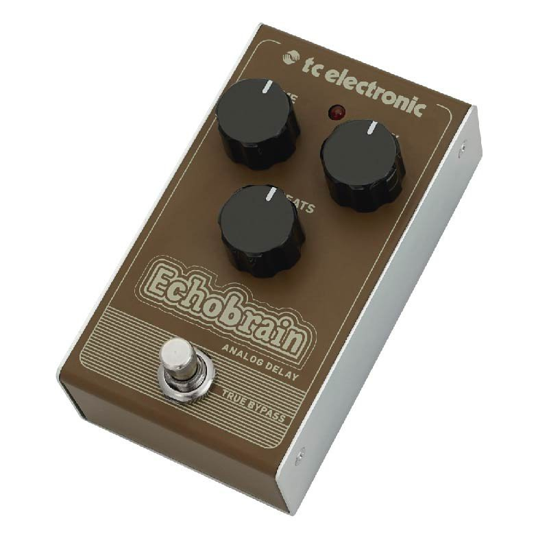 Pedal Echobrain Analog Delay TC Electronic Para Guitarra