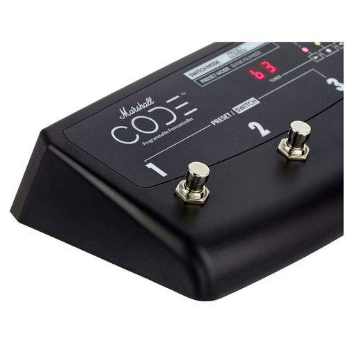 Pedal Footswitch Para Code 25 50 e 100 Marshall PEDL-91009