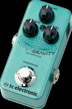 Pedal Hypergravity Mini Compressor TC Electronic Para Guitarra