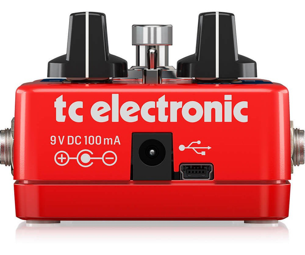 Pedal Oitavador Sub 'N' Up Octaver TC Electronic