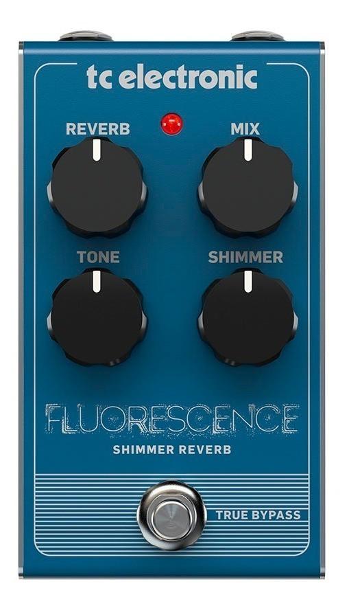 Pedal p/Guitarra - FLUORESCENCE SHIMMER REVERB -TC Electronic