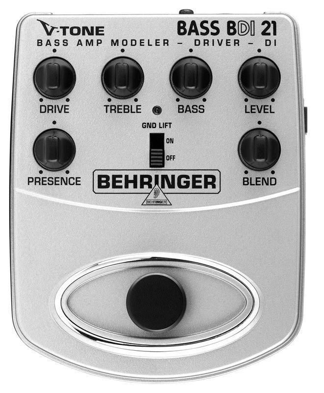 Pedal Para Contra-Baixo BDI21 Behringer