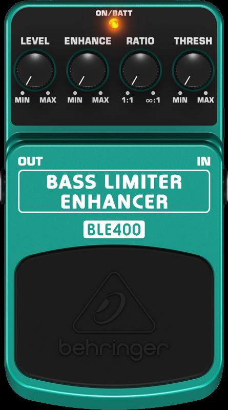 Pedal Para Contra-Baixo BLE400 Behringer Limiter Enhance