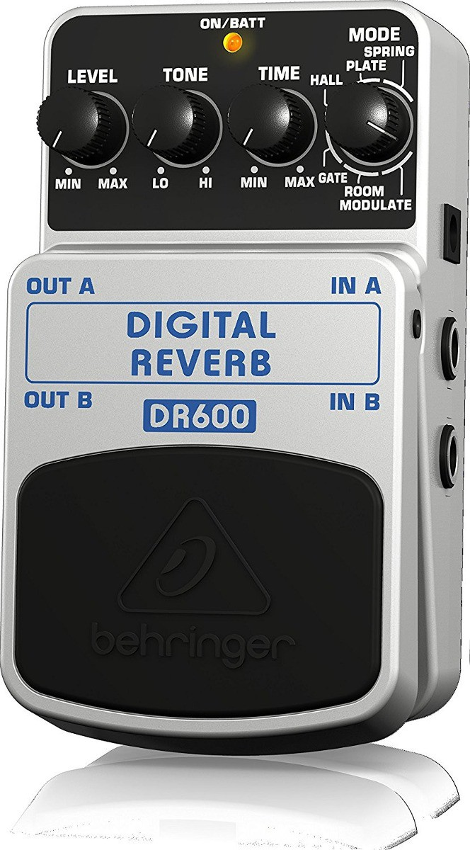 Pedal Para Guitarra DR600 Behringer - Digital Reverb