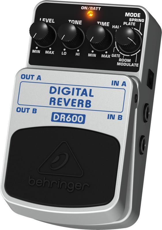 Pedal Para Guitarra DR600 Behringer Digital Reverb