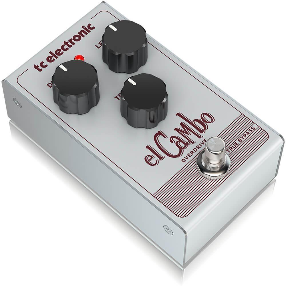 Pedal para Guitarra El Cambo Overdrive TC Electronic