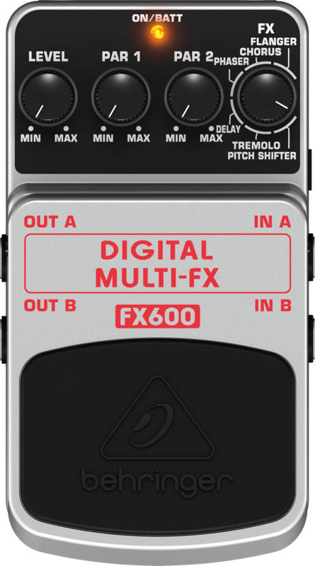 Pedal Para Guitarra FX600 Behringer