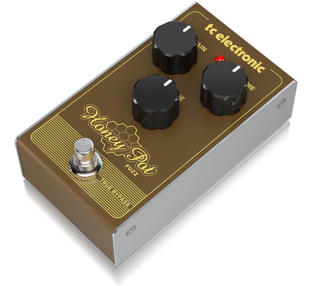 Pedal para Guitarra Honey Pot Fuzz - TC Electronic