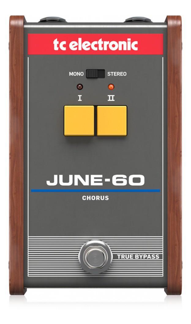 Pedal para Guitarra June-60 Chorus - TC Electronic