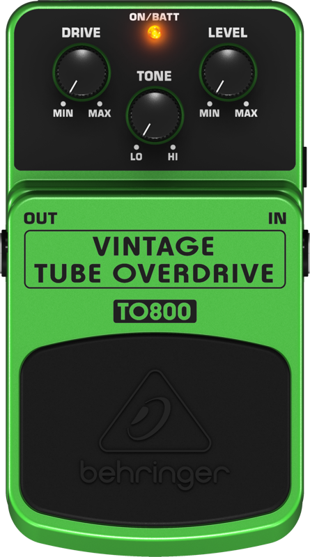 Pedal Para Guitarra TO800 Behringer Tube Overdrive