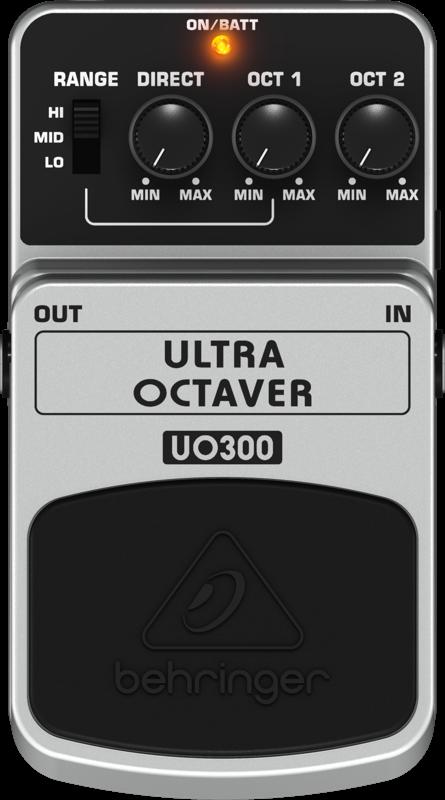 Pedal Para Guitarra UO300 Behringer Ultra Octaver