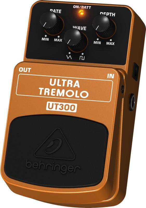 Pedal Para Guitarra UT300 Behringer Ultra Tremolo