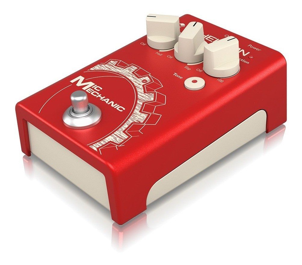 Pedal Para Voz Mic Mechanic 2 TC Helicon
