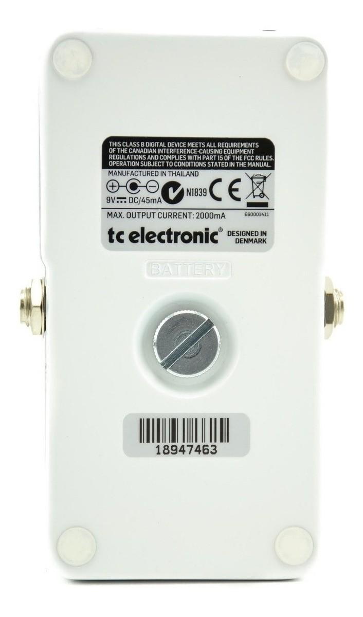 Pedal Poly-Chromatic POLYTUNE 3 - TC Electronic