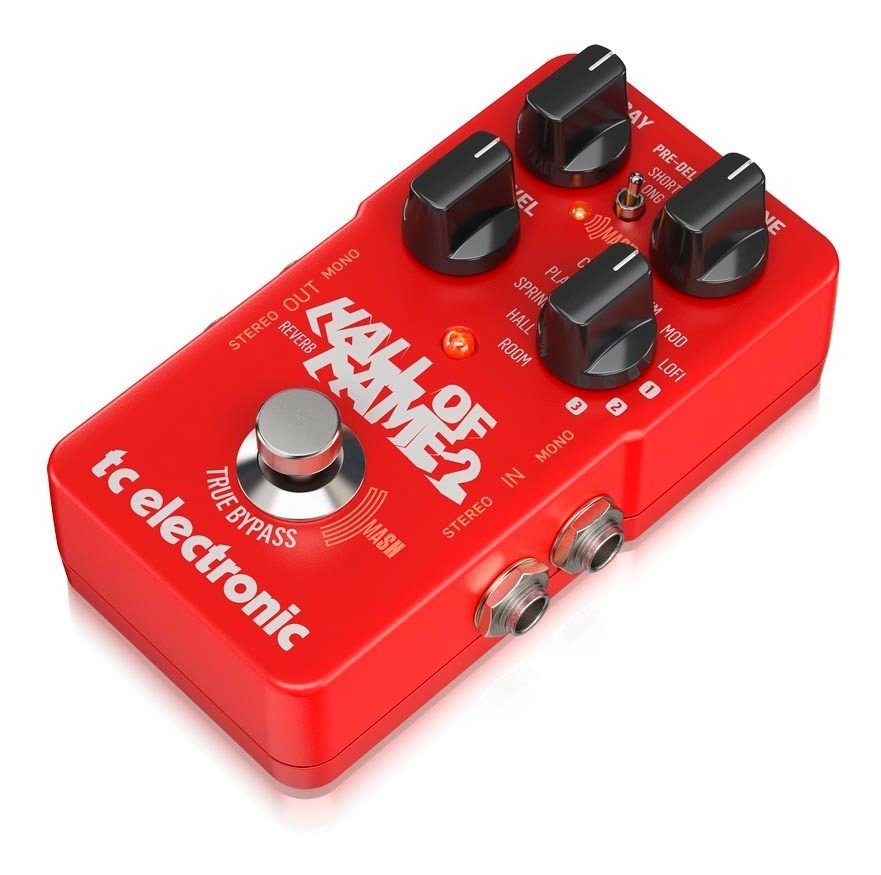 Pedal Reverb Hall Of Fame Reverb 2 TC Electronic Para Guitarra