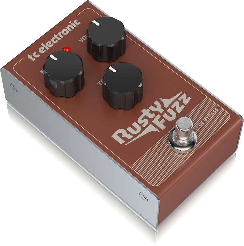Pedal Rusty Fuzz TC Electronic Para Guitarra
